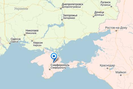 Nasib Krimea, Wilayah Sengketa dalam Peta