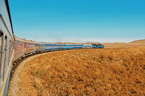 Berpetualang dengan Kereta Trans-Siberia, Hotel Mewah di Atas Rel