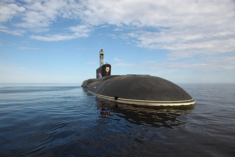 Rusia Perkuat 'Triad Nuklir' di Laut