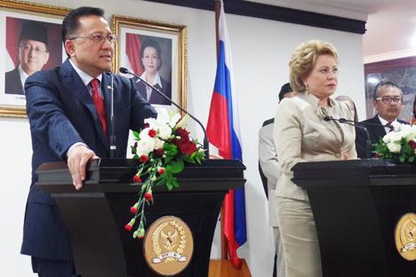 DPD RI Tegaskan Pentingnya Jalin Kemitraan dengan Rusia