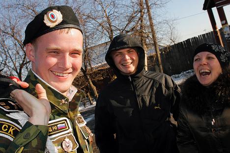 Seperti Apa Wajib Militer di Rusia?