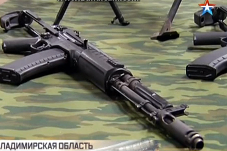 Produsen Senjata Rusia Luncurkan Senjata Otomatis Baru Pesaing Kalashnikov