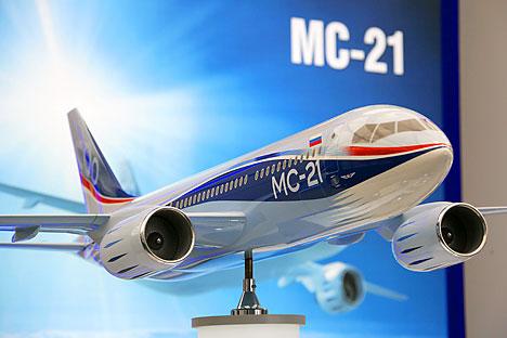 Tak Gentar Hadapi Krisis, Rusia Akan Tetap Memproduksi Masal Pesawat Penumpang MS-21