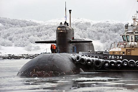 Kapal Selam Misil Balistik Rusia Dikerahkan Lakukan Tugas Siaga Tempur
