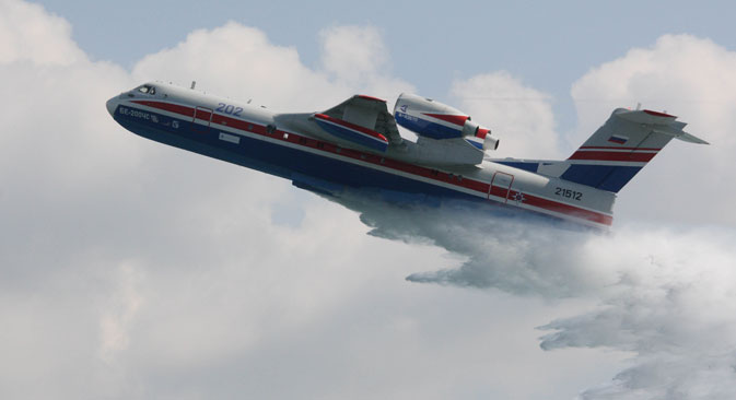 Indonesia Berencana Beli Empat Pesawat Amfibi Be-200 Rusia
