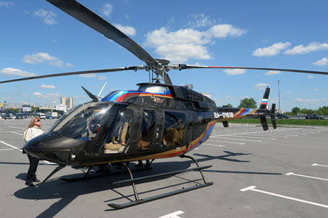 """Di Tengah """"Perang Sanksi"""", Helikopter Bell AS Tetap Dirakit di Rusia"""