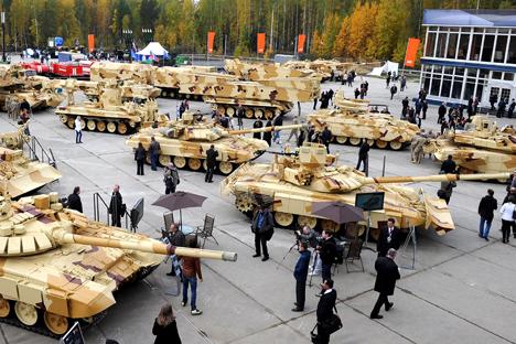 Jawab Tekanan Sanksi Barat, Rusia Siapkan Forum Army 2015