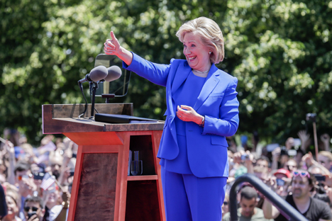 Apakah Hillary Clinton Mau 'Memperbaiki' Hubungan dengan Rusia?