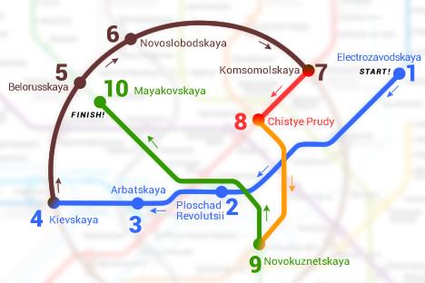 Wisata Keliling Stasiun Metro Moskow, Museum Menakjubkan yang Murah Meriah