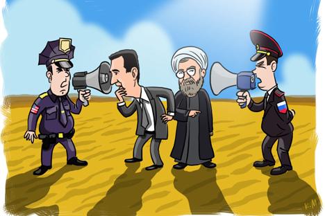 """Rusia Tantang Hegemoni AS Sebagai """"Polisi Dunia"""""""