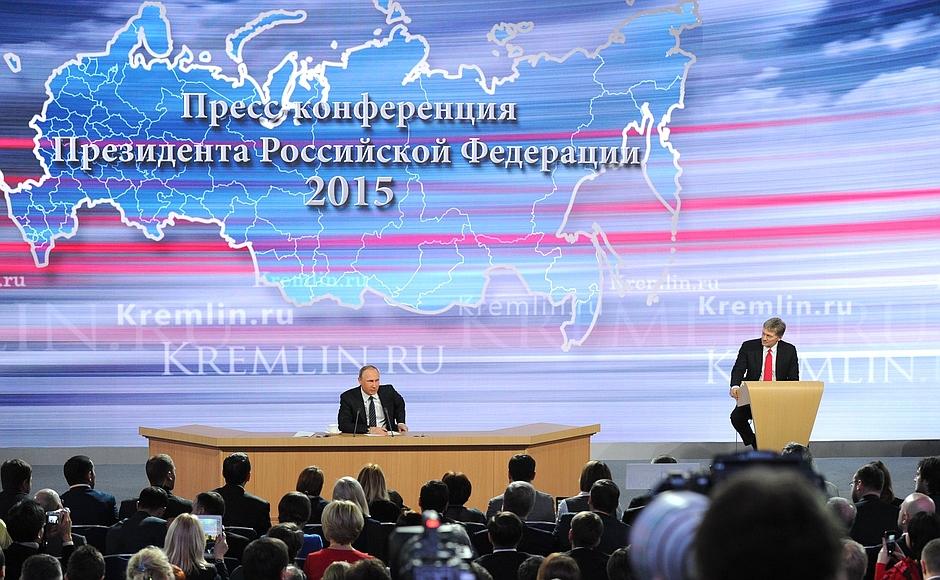 Putin Live 2015: Presiden Rusia 'Curhat' dalam Sesi Tanya-Jawab Tahunannya