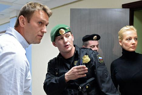 Caso Kirovles, sospesa la pena per Navalny