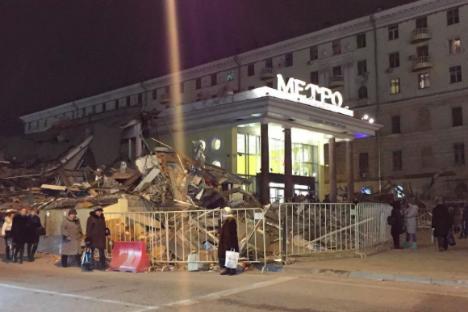 A Mosca demoliti chioschi considerati illegali