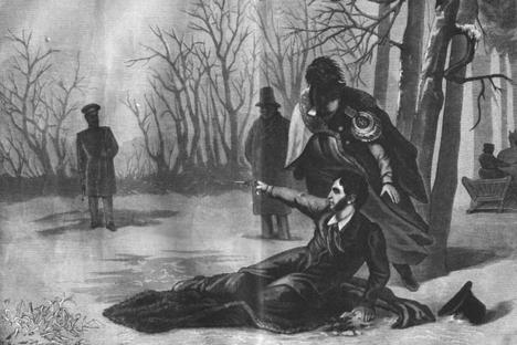 もっと読む:プーシキン最後の決闘そして死