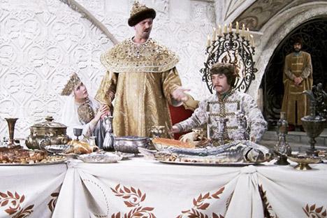 As preferências gastronômicas dos monarcas russos width=
