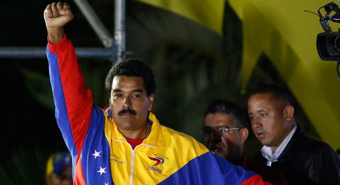 Rússia admite preocupação com escalada de tensões na Venezuela width=
