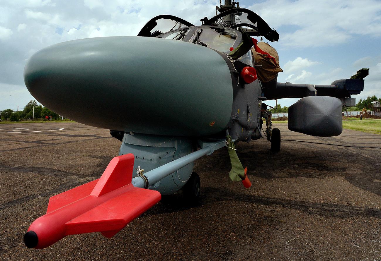 Rusija u Siriji testira najmodernije palubne helikoptere