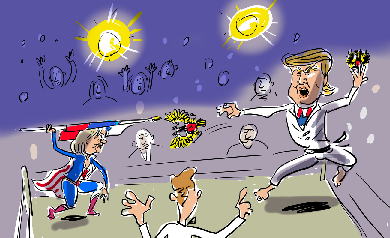 もっと読む:アメリカ大統領選にロシアを利用