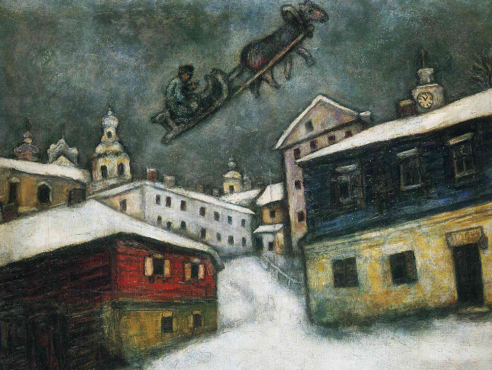 IN PICTURES: Marc Chagall and his ties with Russia
