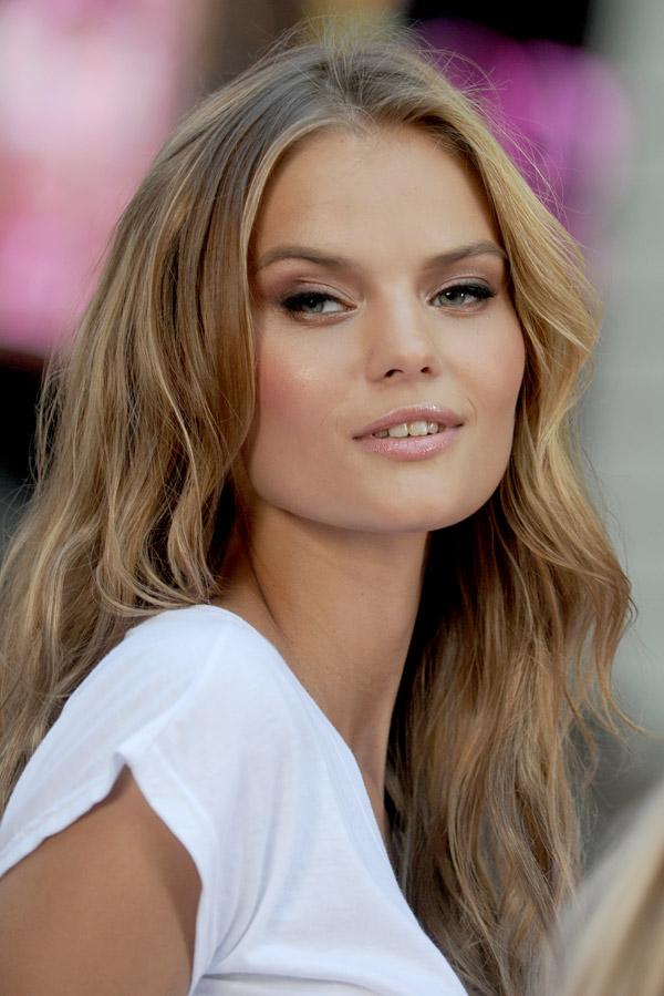 Modelo rusa Kate Grigóreva, 'ángel' de Victoria's Secret. Fuente: Photoshot/Vostock-Photo