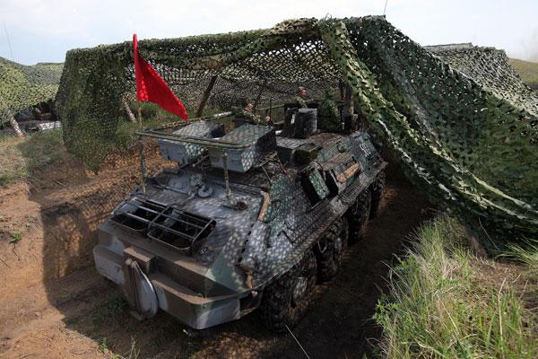 Lima Metode Kamuflase Perangkat Militer Rusia