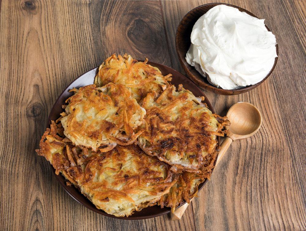 Draniki: Say goodbye to winter with these sunny potato pancakes