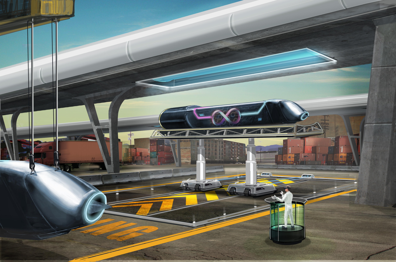 Hyperloop. Vir: Press photo