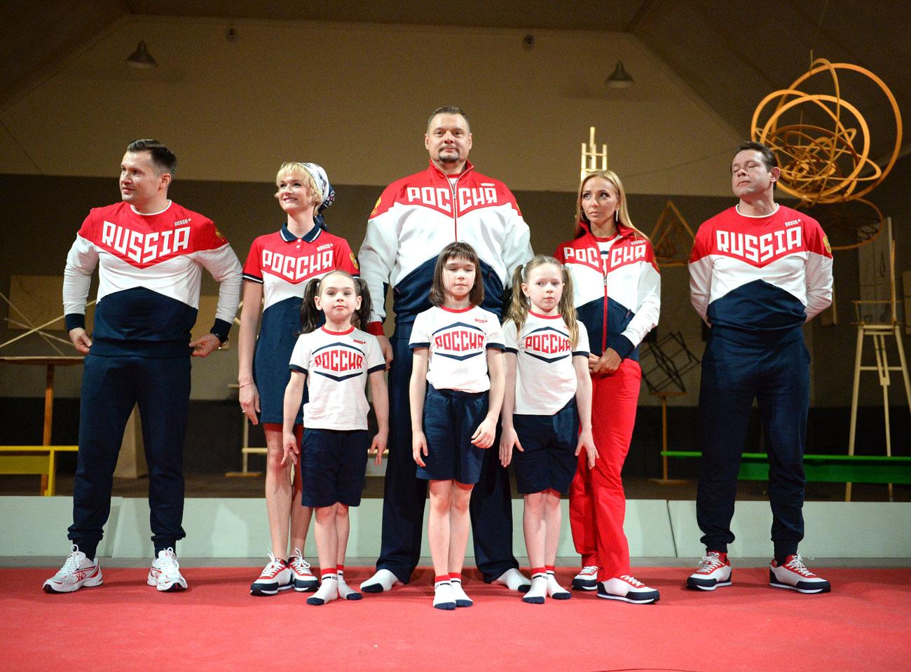 Seragam Olimpiade Rusia dari Masa ke Masa