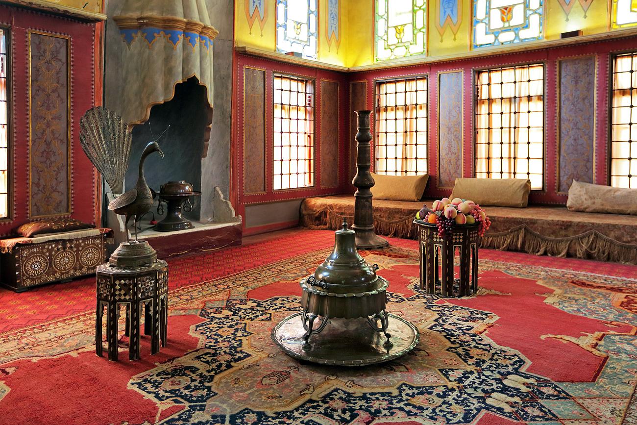 Le palais de Hansaray. Crédit : Lori / Legion-Media