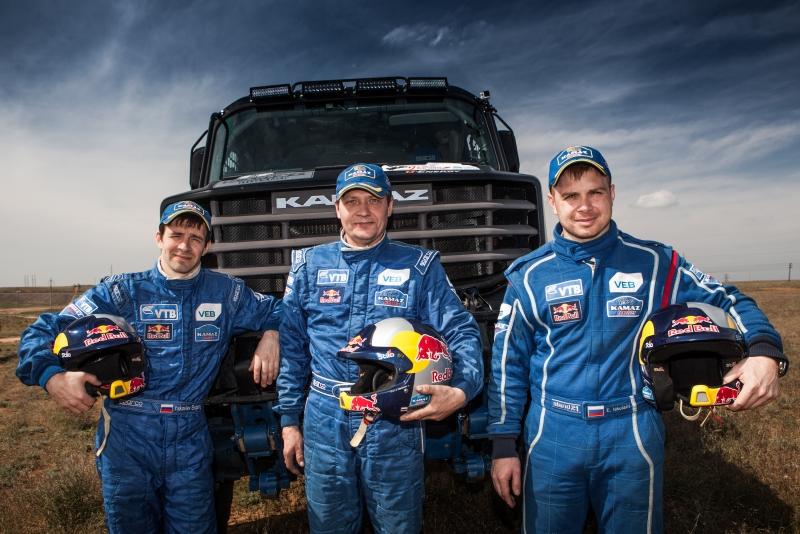 Russia's KAMAZ-Master rally team gets ready for Dakar