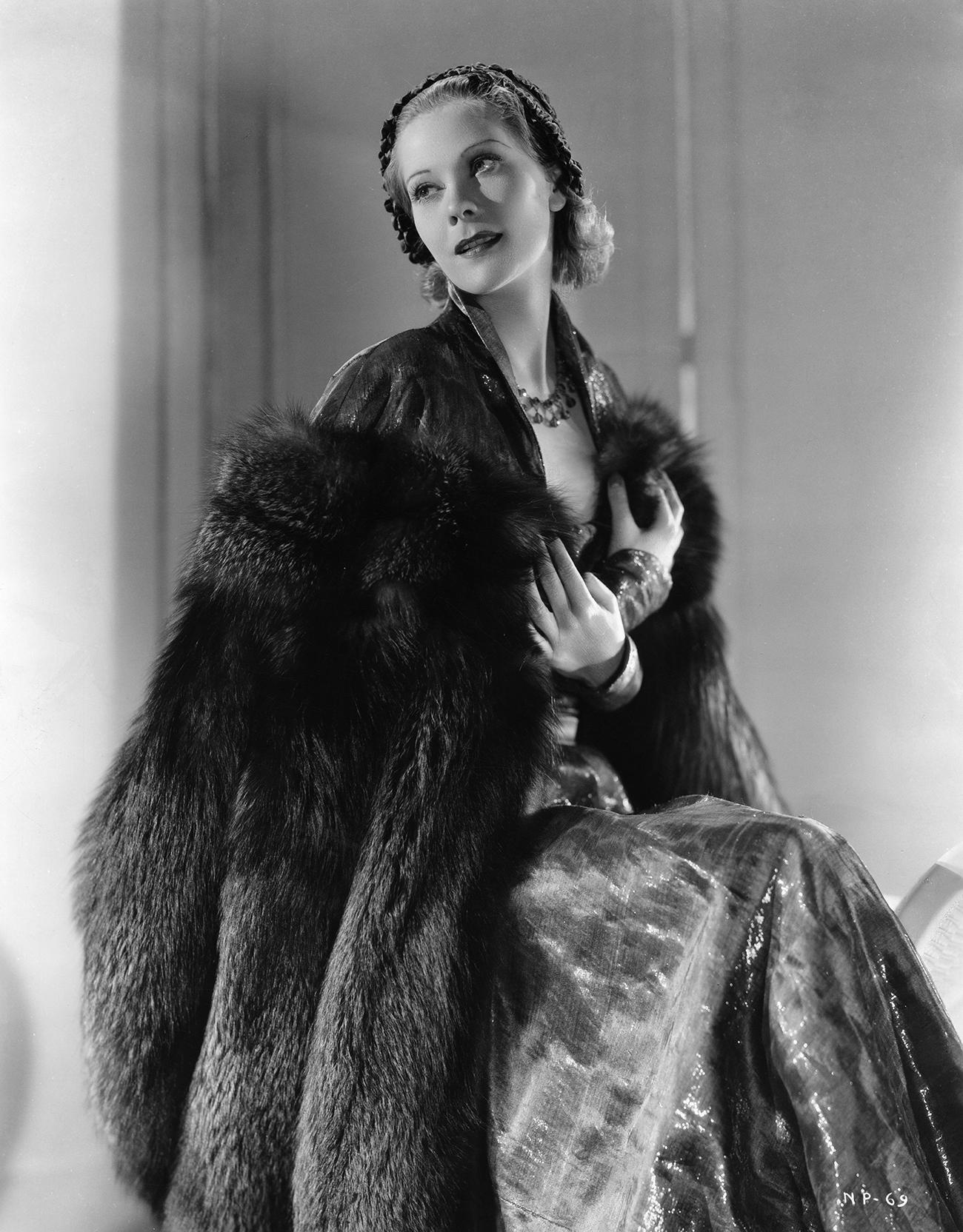 ナタリー・パレ氏、1935年=Ullstein bild/Vostock-Photo