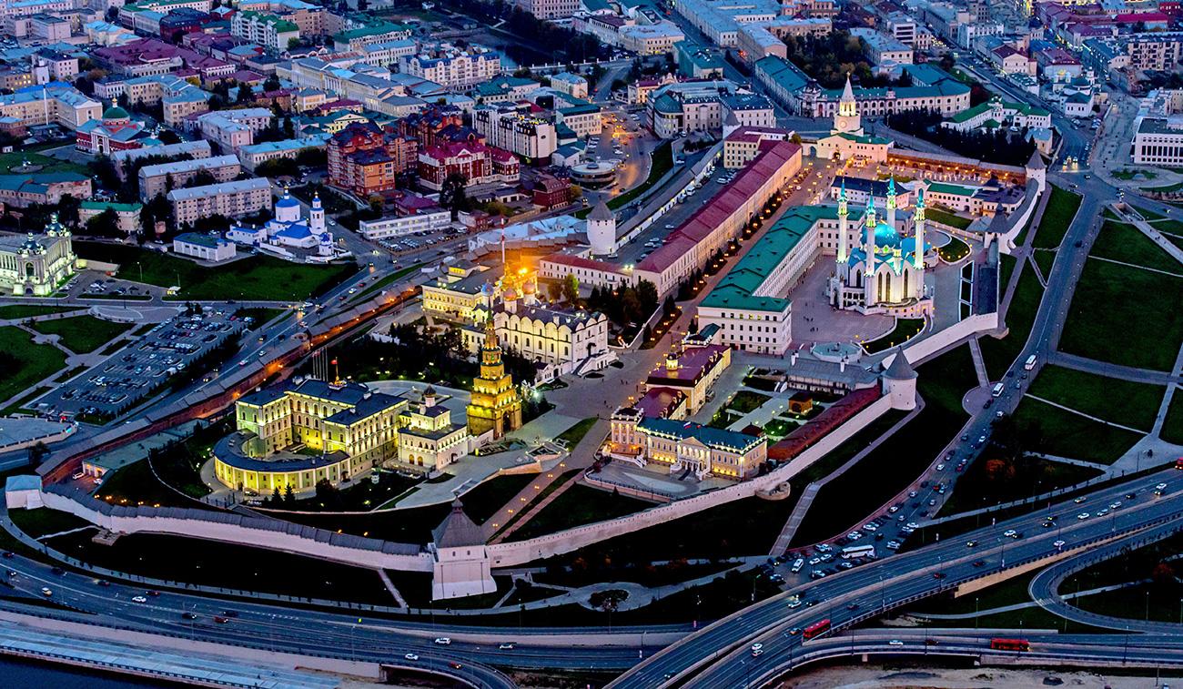 Kazan Kremlin.