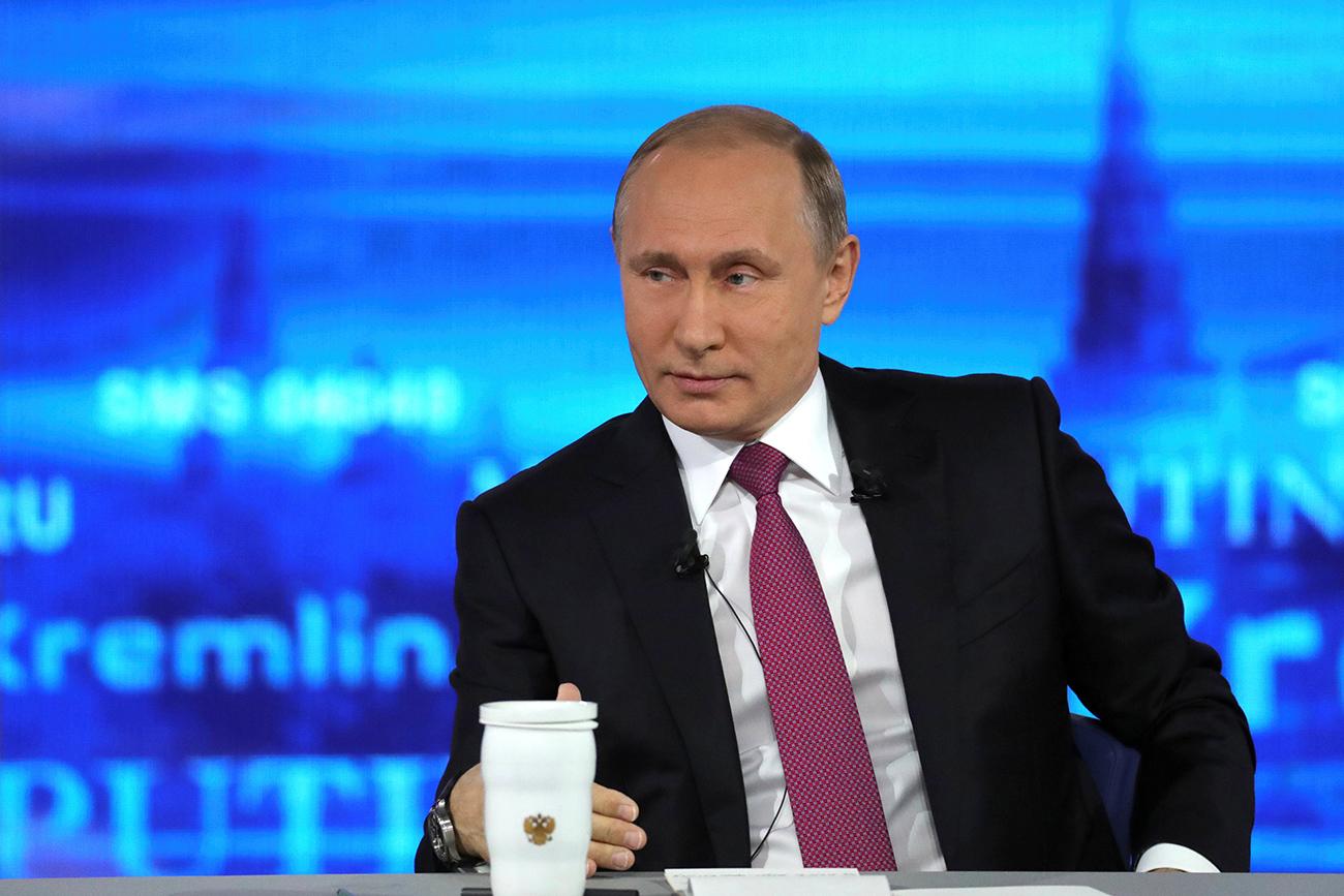 Presiden Rusia Vladimir Putin, 15 Juni 2017. Sumber: Reuters