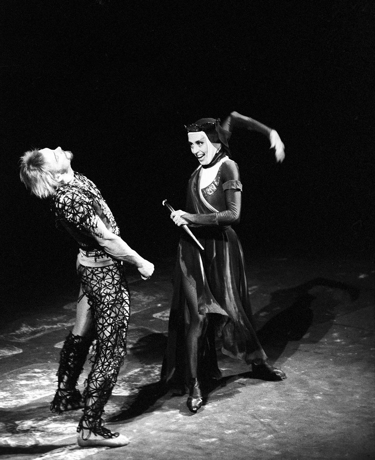 El Teatro Académico del Bolshói. Vladímir Vasíliev como Macbeth, Nina Timoféieva como Lady Macbeth. Fuente: Alexánder Makárov/RIA Nóvosti