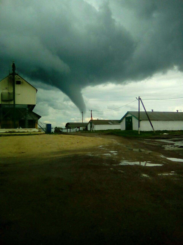 Tornado di Republik Tatarstan, Rusia, 1 Juni 2017. Sumber: Global Look Press