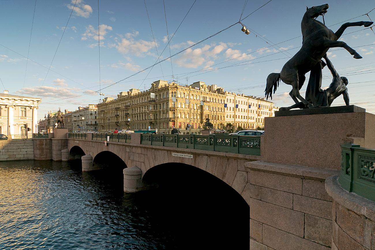 Puente Ánichkov. Fuente: Legion Media