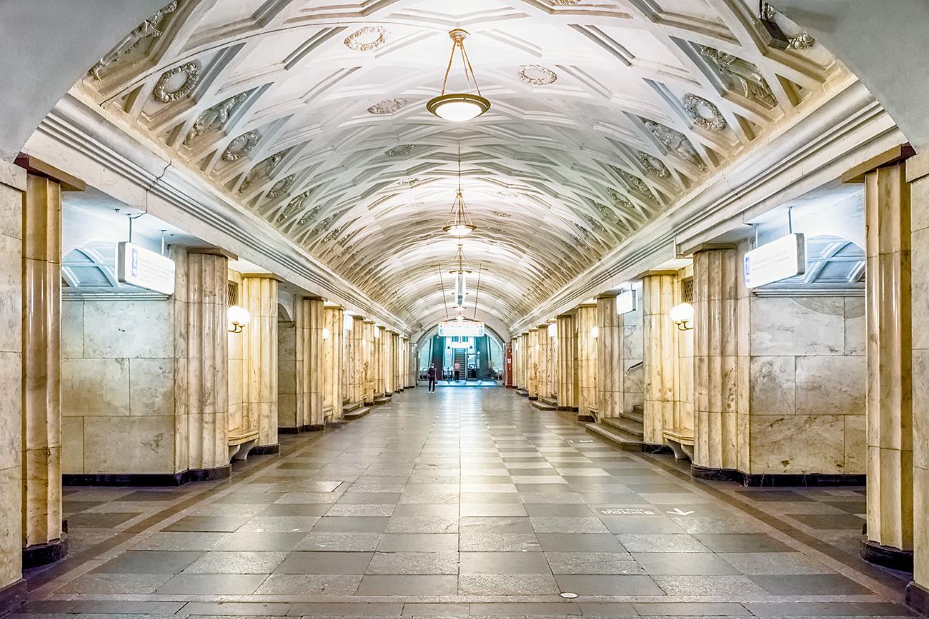 Estación de metro Teatrálnaia. Fuente: Vostock-Photo