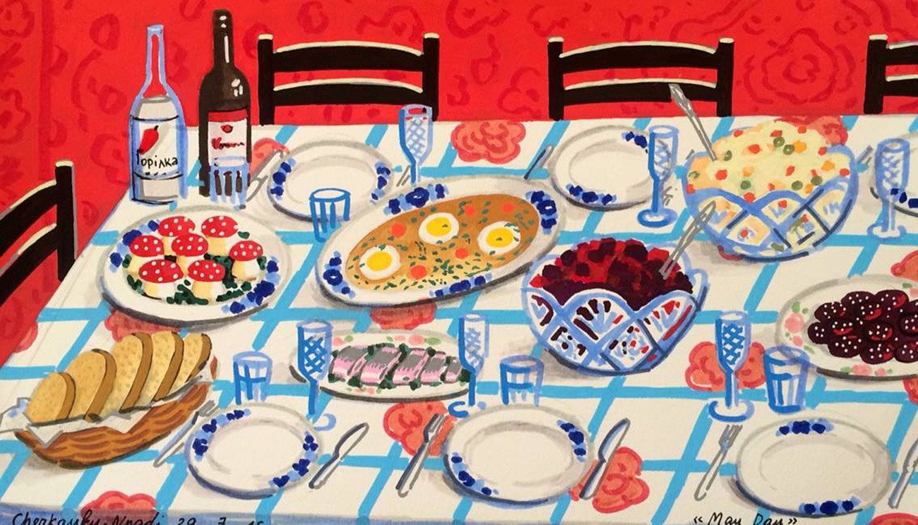 """""""El Día de Mayo"""". Fuente: <a  data-cke-saved-href=""""https://www.facebook.com/zoya.cherkassky"""" href=""""https://www.facebook.com/zoya.cherkassky"""">Zoya Cherkassky-Nnadi</a>"""