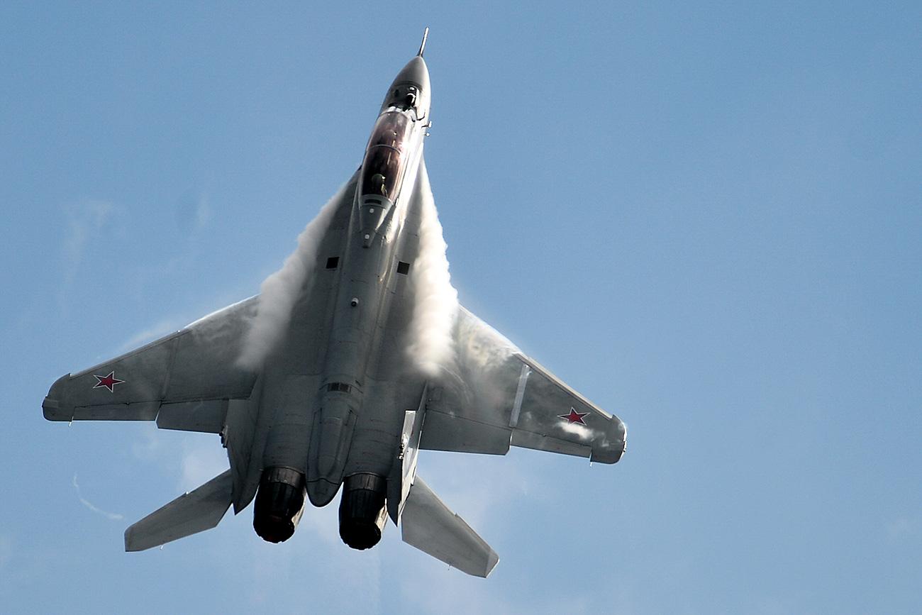 MiG-35. Fuente: Vladímir Astapkóvich/RIA Novosti