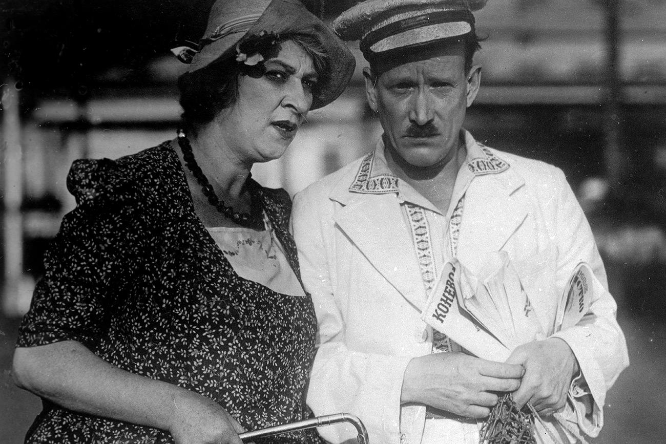 Faína Ranévskaia en la película 'Mulya, no me enfades', 1939. Fuente: Global Look Press