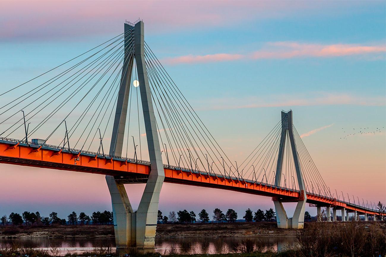 El puente sobre el río Oká. Fuente: Legion Media