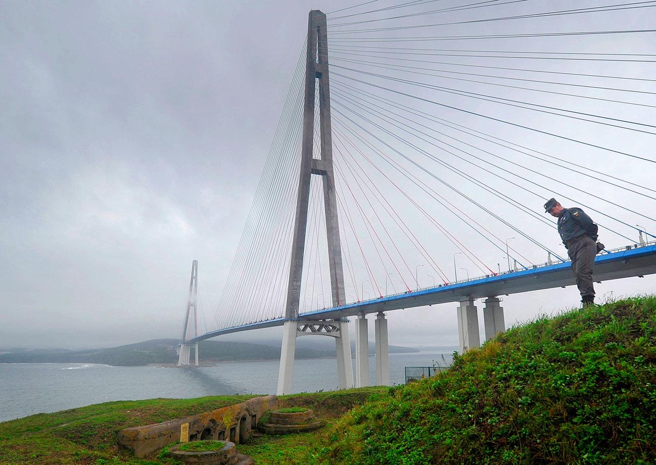 Most na otok Ruski v Vladivostoku / Aleksej Kudenko/RIA Novosti