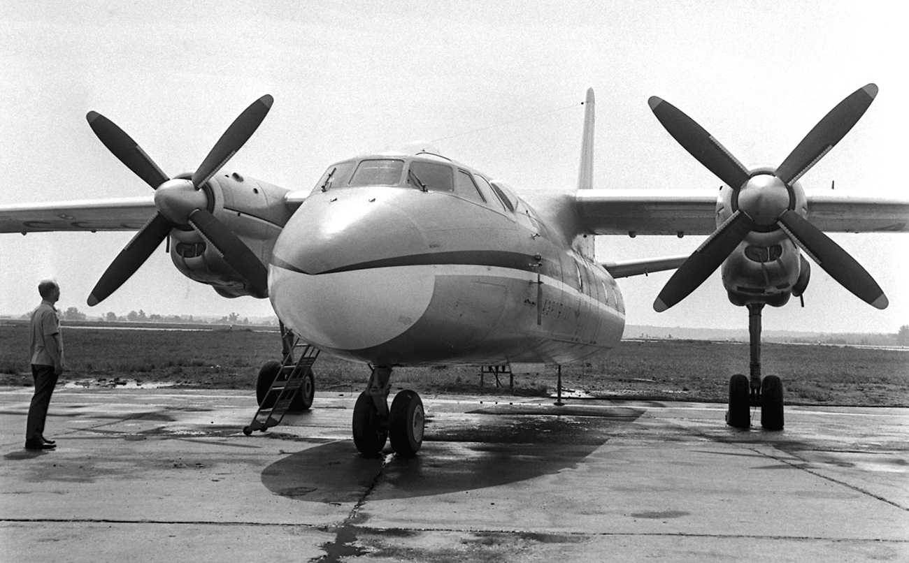 Pesawat An-24. Sumber: Sergei Preobrazhensky/TASS
