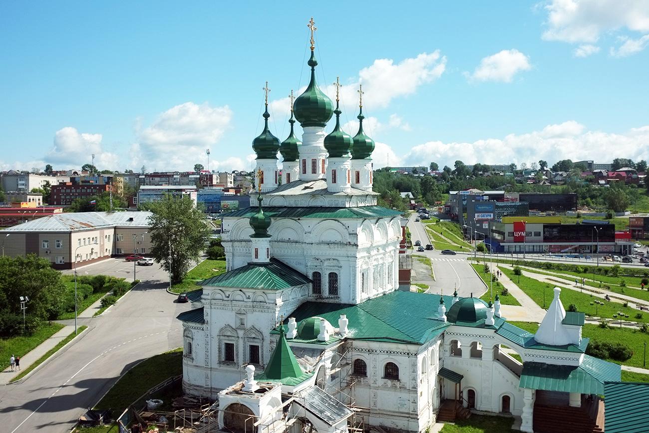 La antigua Catedral de la Trinidad en Solikamsk. Fuente: Anna Sorókina
