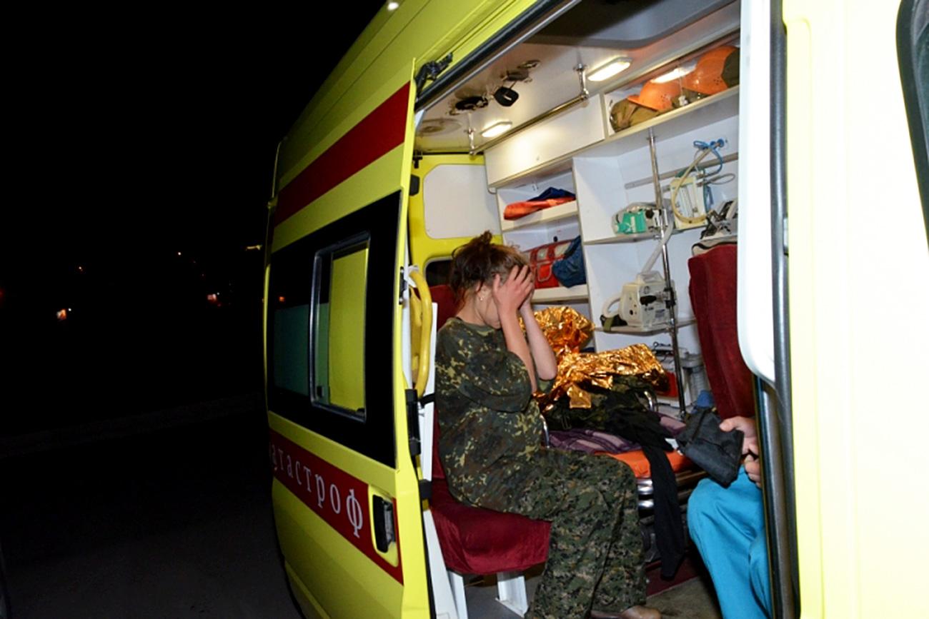 Pencarian Yana, gadis berusia 14 tahun yang tersesat selama seminggu di tengah hutan Siberia berakhir sukses. Kementerian Situasi Darurat Wilayah Krasnoyarsk / www.mchs.gov.ru