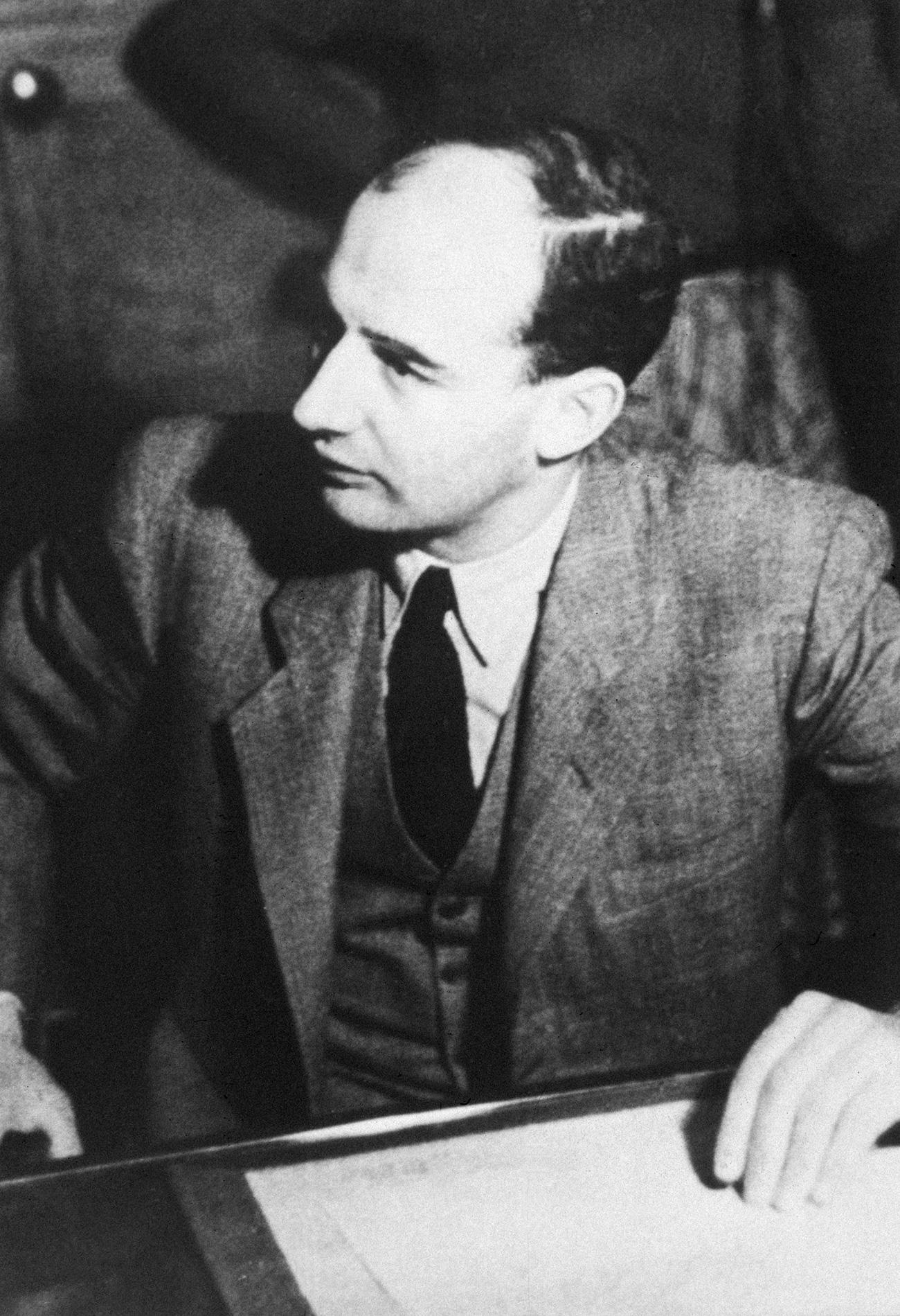 Raoul Wallenberg, posebni predstavnik Švedske v Budimpešti, 1944. Izvor: Getty Images.