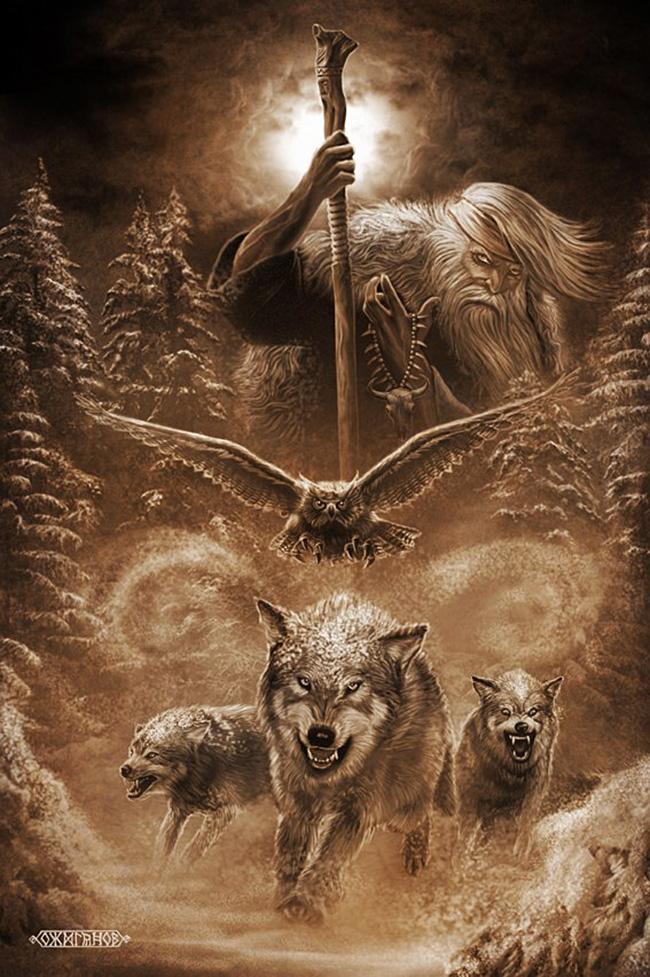 Črni bog je slovanski zli bog, ki prinaša uničenje. / Igor Ožiganov