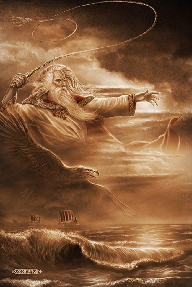 Stribog, bog vetrov in neviht / Igor Ožiganov