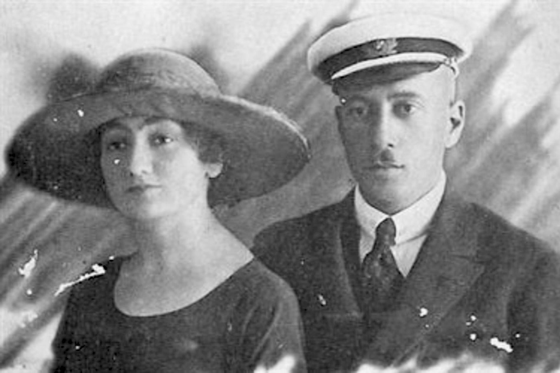 Цецлава Чапска и Николај Долгоруки, 1919. Извор: Legion Media