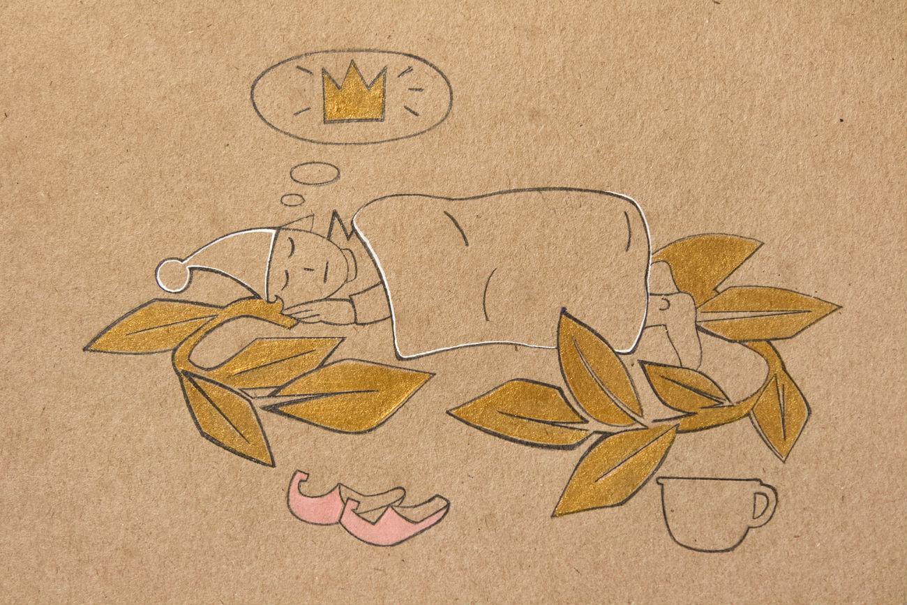 Цртеж Иље Огарјова.